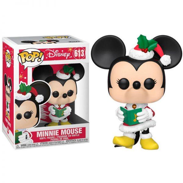 Disney Holiday Minnie Figurine POP