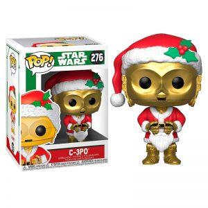 Star Wars Holiday C-3PO Père Noël Figurine POP