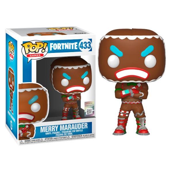 Fortnite Merry Marauder Figurine Funko Pop