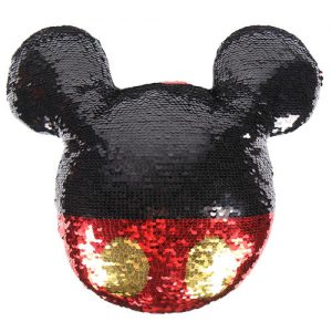 Coussin Mickey paillettes Disney