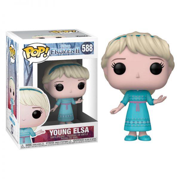 Young Elsa Figurine POP Reine des neiges 2