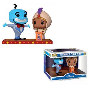 Figurine POP Disney Movie Moment Aladdin Génie