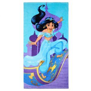 Jasmine Aladdin Serviette de plage en coton Disney