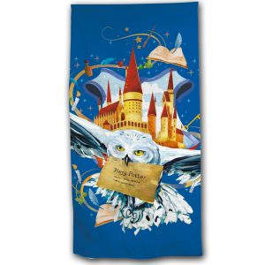 Serviette de plage Harry Potter en polyester