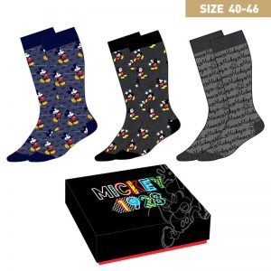 Disney Mickey pack 3 chaussettes homme