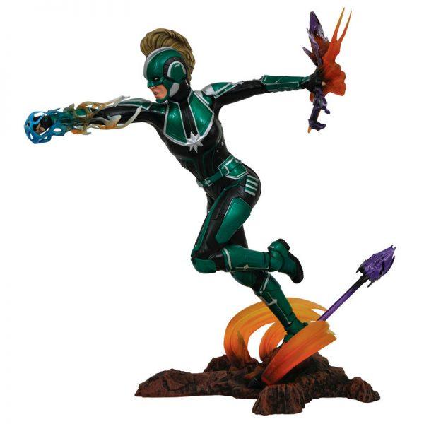 Figurine diorama Captain Marvel Starforce