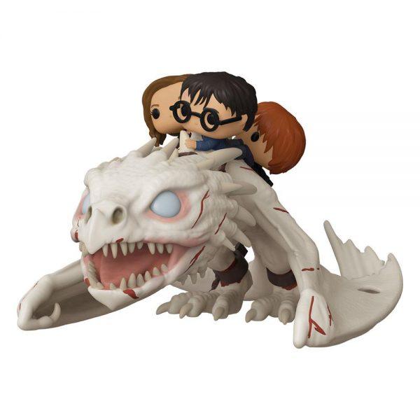Figurine POP Harry Potter Gringotts Dragon Harry Ron et Hermione