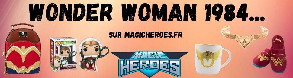 produits dérivés du film Wonder Woman 1984