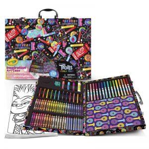 Crayola Trolls World Tour Art Case