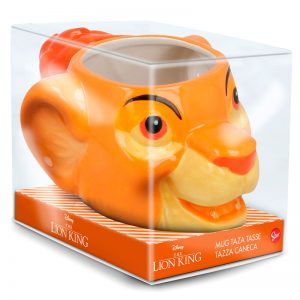 Mug 3D Simba Le Roi Lion de Disney