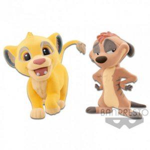 Q Posket Simba et Timon Le Roi Lion Disney