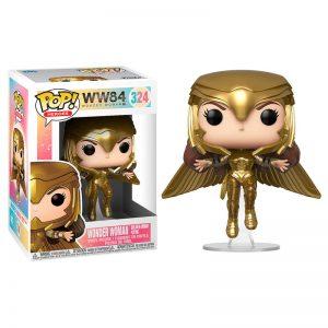 Figurine POP DC Wonder Woman 1984 Or