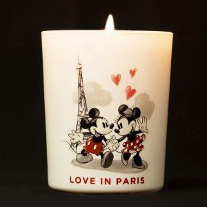 Bougie Parfumée Disney Love in Paris