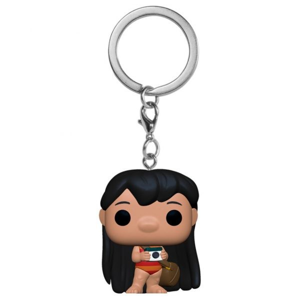 Porte-clés Pocket POP Disney Lilo avec appareil photo