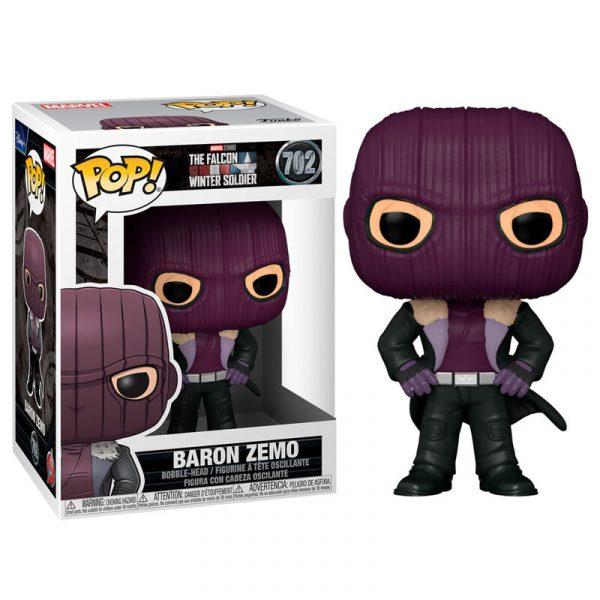 Figurine POP Marvel Baron Zemo
