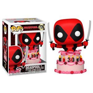 Figurine POP Marvel Deadpool 30th Deadpool dans Cake