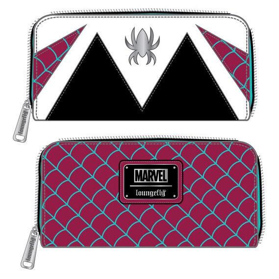Portefeuille Loungefly Marvel Spider Gwen