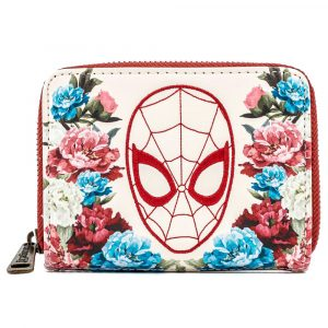 Portefeuille Loungefly Marvel Spiderman Floral