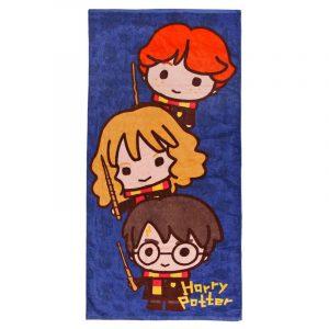 Serviette en coton Harry Potter Chibi