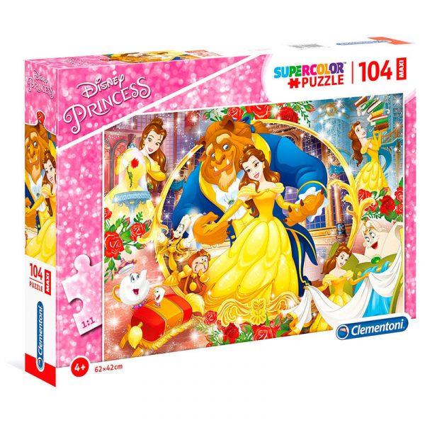 Disney La Belle et la Bête Maxi puzzle 104 pcs