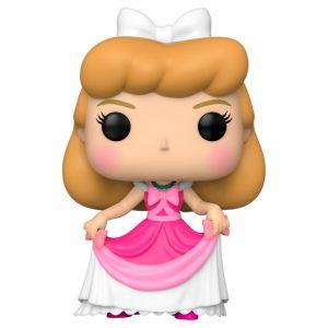 Figurine POP Disney Cendrillon en Robe Rose