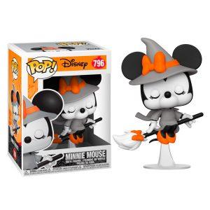 Figurine POP Disney Halloween Sorcière Minnie