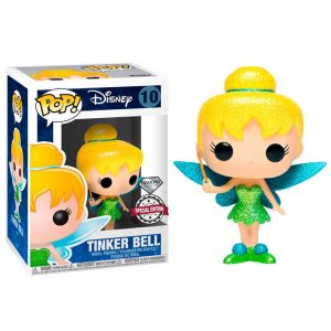 Figurine POP Disney Tinkerbell Glitter Exclusivité