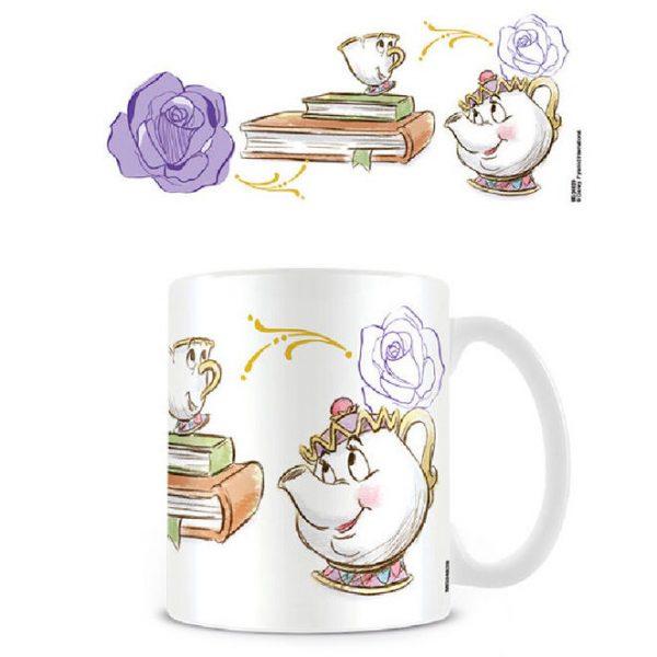Mug Disney La Belle et la Bête Chip Enchanted